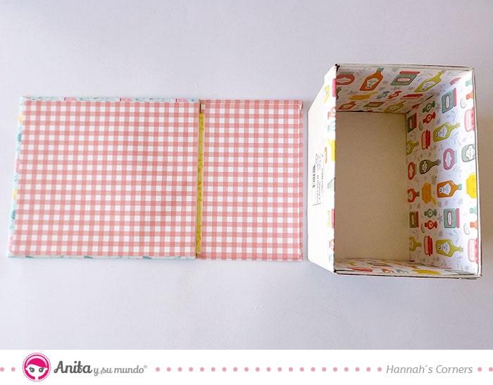 manualidades de cartonaje con carton blanco doble cara de anita y su mundo