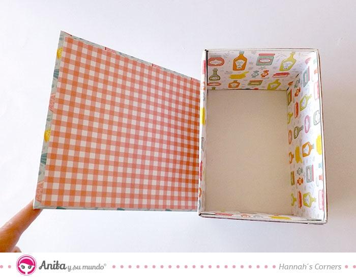 soportes bonitos para organizadores de cartón