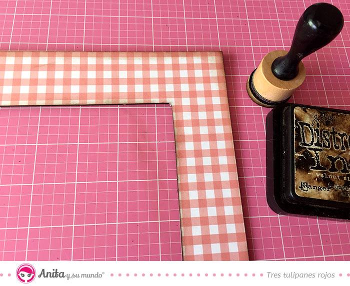 trucos para entintar chipboards