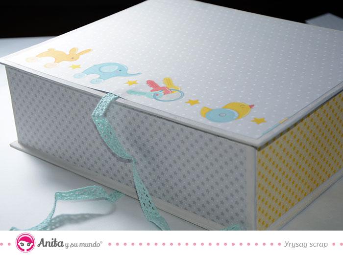 cajas bebes carton