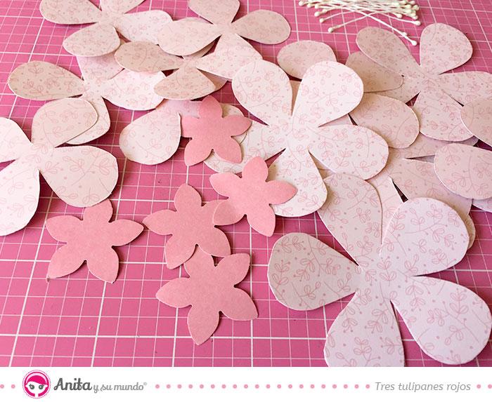 cómo hacer decoraciones de boda con papeles decorados