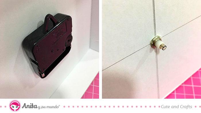 cómo hacer un reloj de pared desde cero