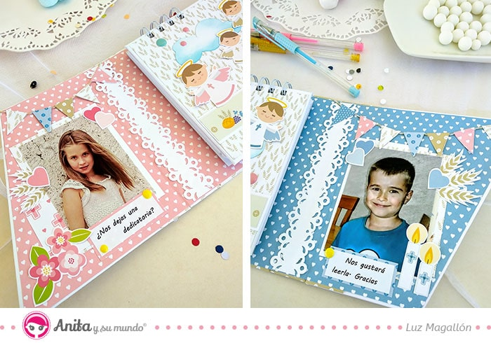 fotografias para un libro de comunion