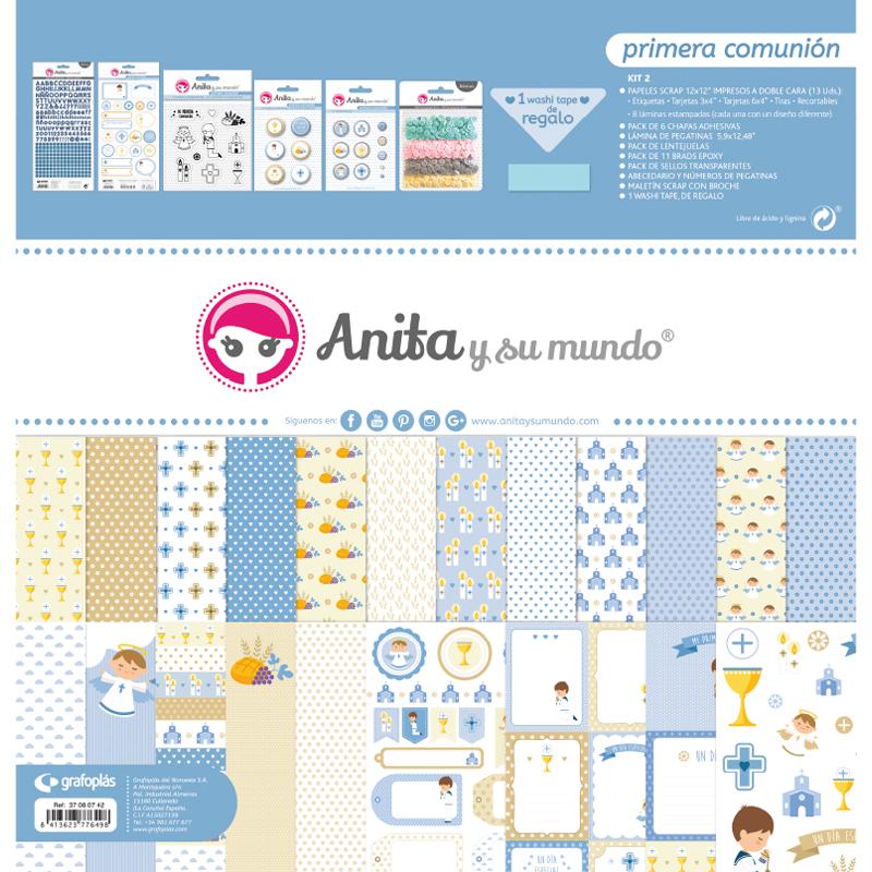 "Kit maletín colección ""primera comunión niño"" – Ref. 37 08 07 42"