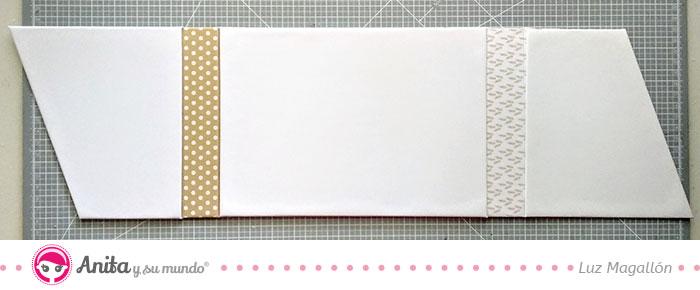 tutorial libro de firmas scrapbooking estructura exterior