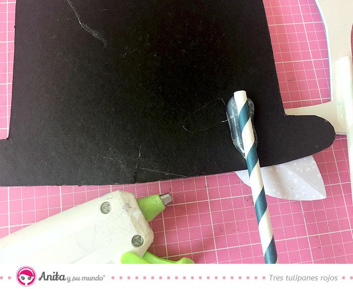 usar pajitas para accesorios de boda