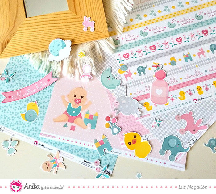 papel para decorar habitacion bebe