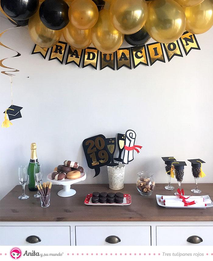 cómo hacer accesorios para una fiesta de graduación