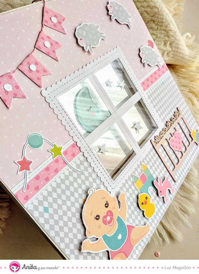 ideas faciles para decorar habitaciones de bebe