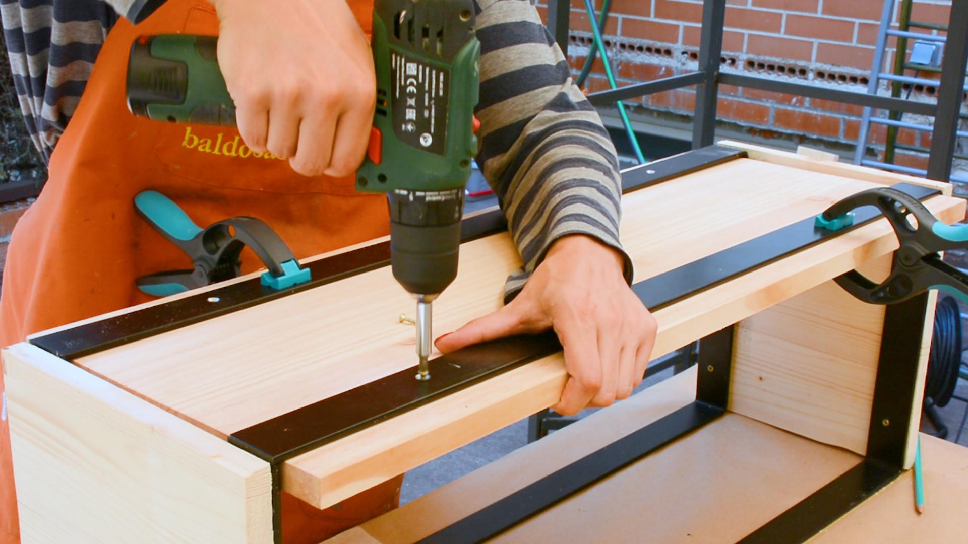 banco madera 700