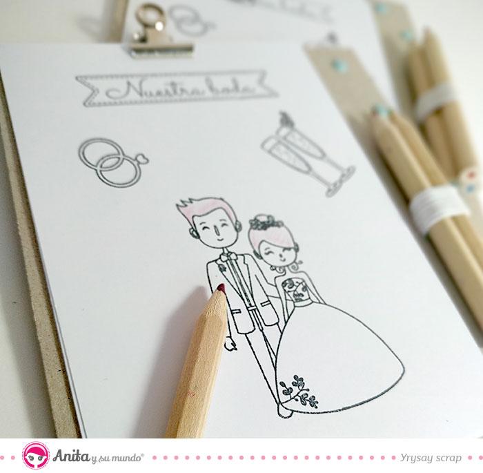 ideas divertidas para niños en bodas