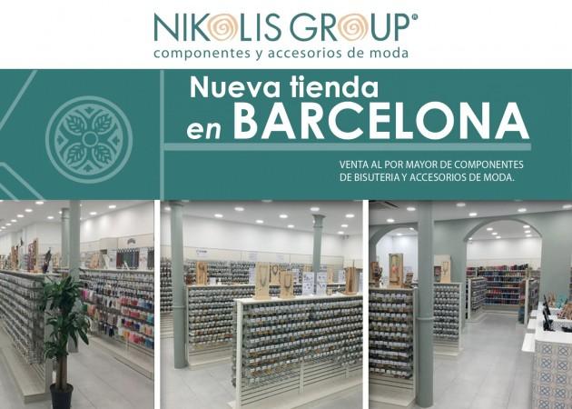 El Grupo Nikolis abre su tienda de Barcelona
