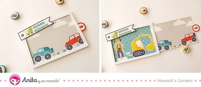 tarjeta interactiva coches