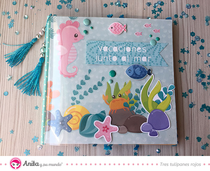 trucos scrap para decorar mini albums