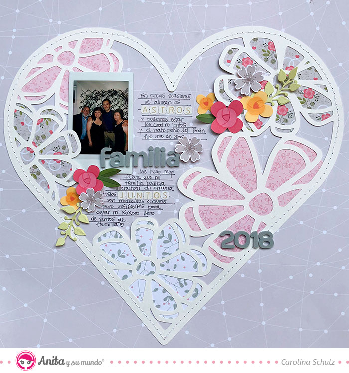 tutorial layout romantica scrapbooking
