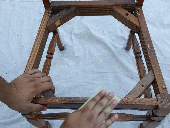 Tutotorial restaurar silla madera antigua paso 1