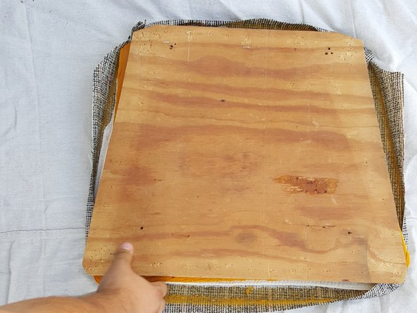 Tutorial restaurar silla madera antigua paso 7