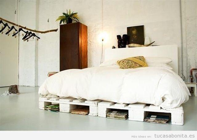 ideas para hacer camas de matrimonio con palets 8