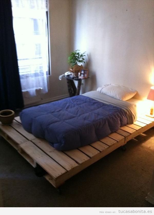 ideas para hacer camas de matrimonio con palets 9