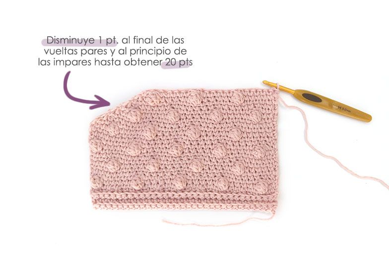 Cómo tejer  una Chaqueta Kimono de crochet de bebé - Patrón y Tutorial - Disminuye para el escote en el delantero de bodoques