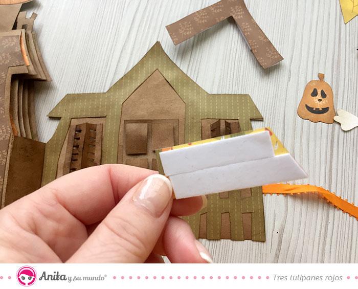 cinta adhesiva 3d para decoraciones