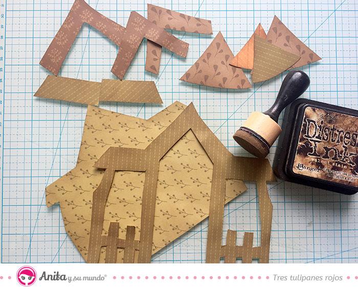 decoraciones para casa encantada de papel