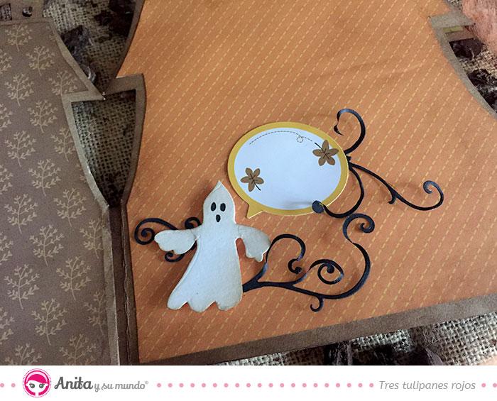 detalles paginas interiores album halloween