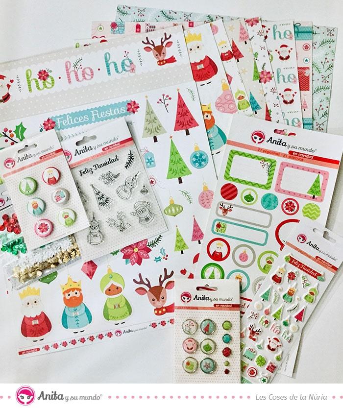 papeles para manualidades de navidad