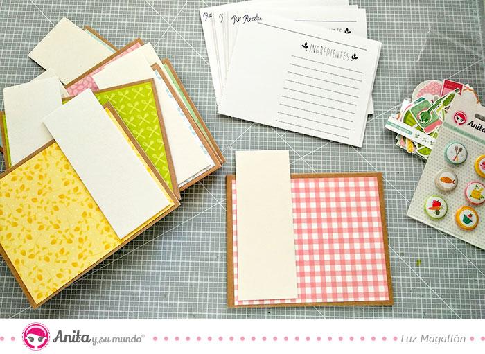 como crear fichas con cartón de manualidades