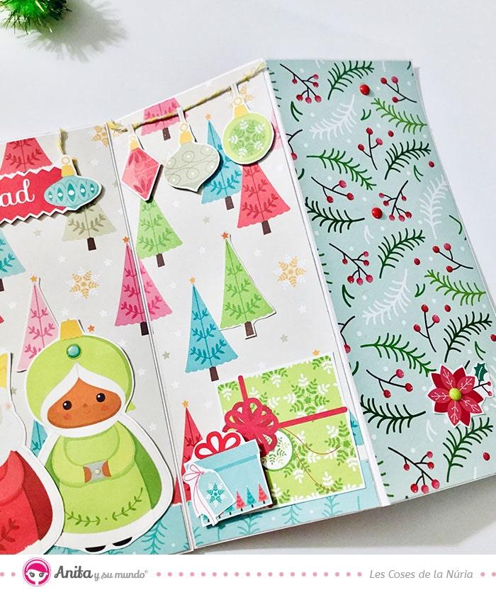 cómo decorar tarjetas de navidad facilmente