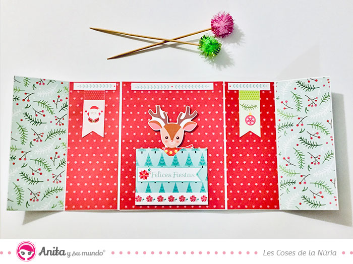 como hacer manualidades navideñas de papel
