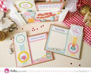 tarjetas bonitas para guardar recetas