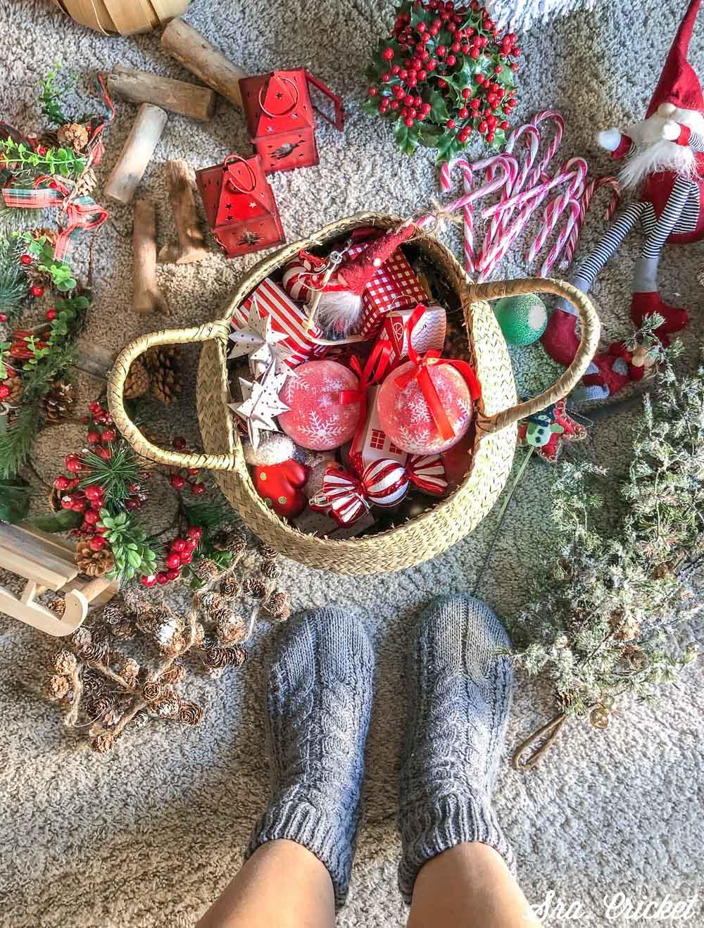 adornos navideños clásicos