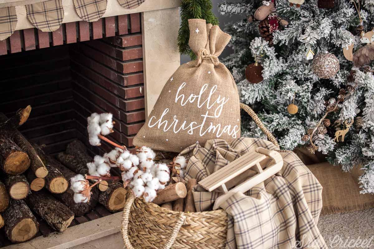adornos navidenos decoracion rustica