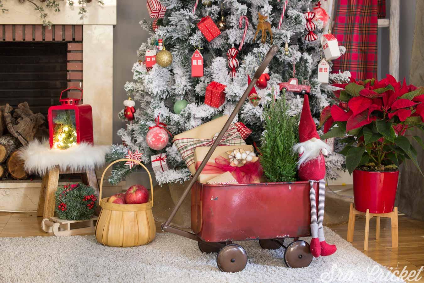 decoracion navidad estilo clasico