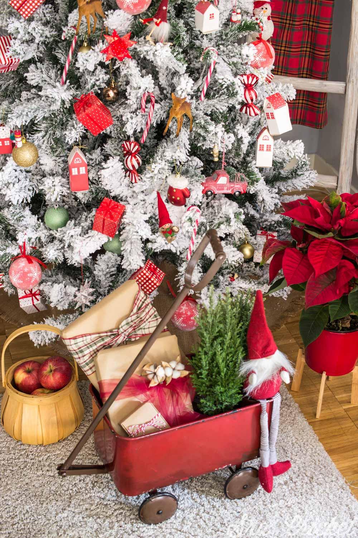 decoración navideña clásica
