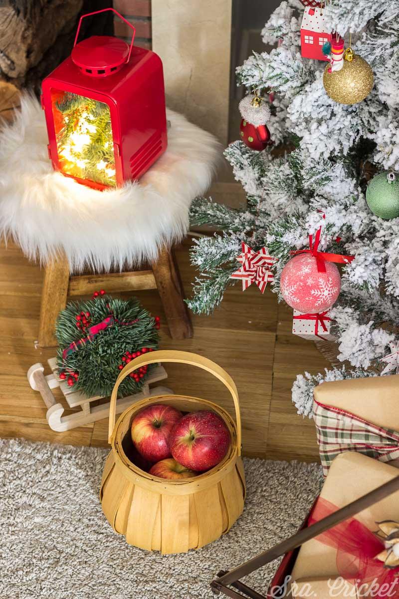 decoracion navideña estilo clasico