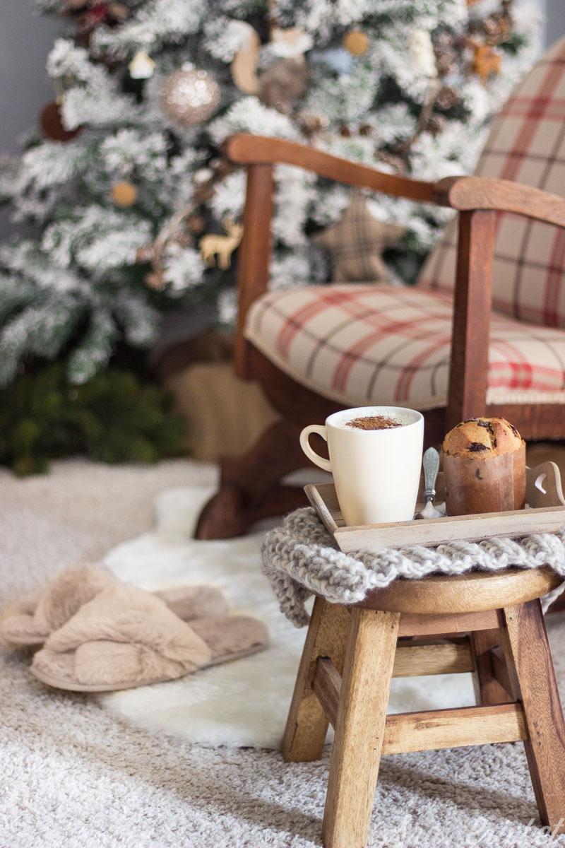 decorar salón por navidad