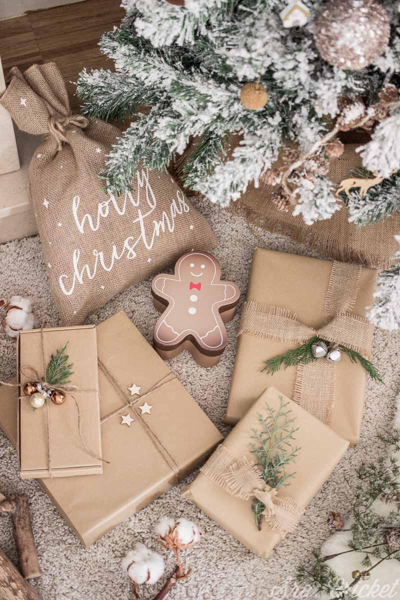envolver regalos navidad facil y bonito