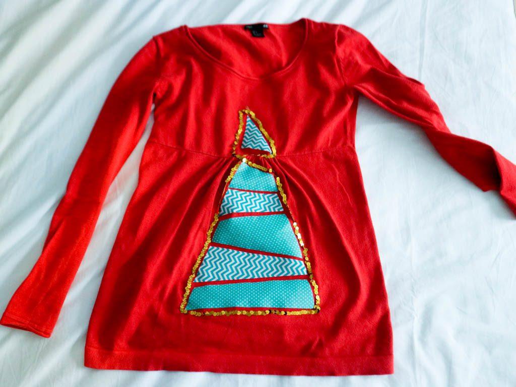 jersey navideño diy