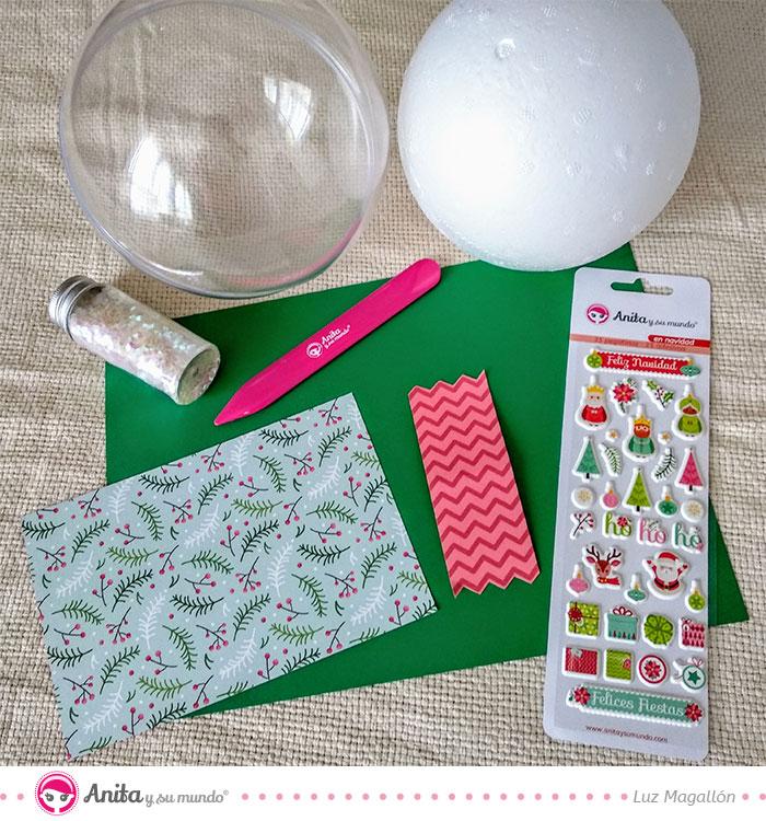 puffy stickers navidad anita y su mundo