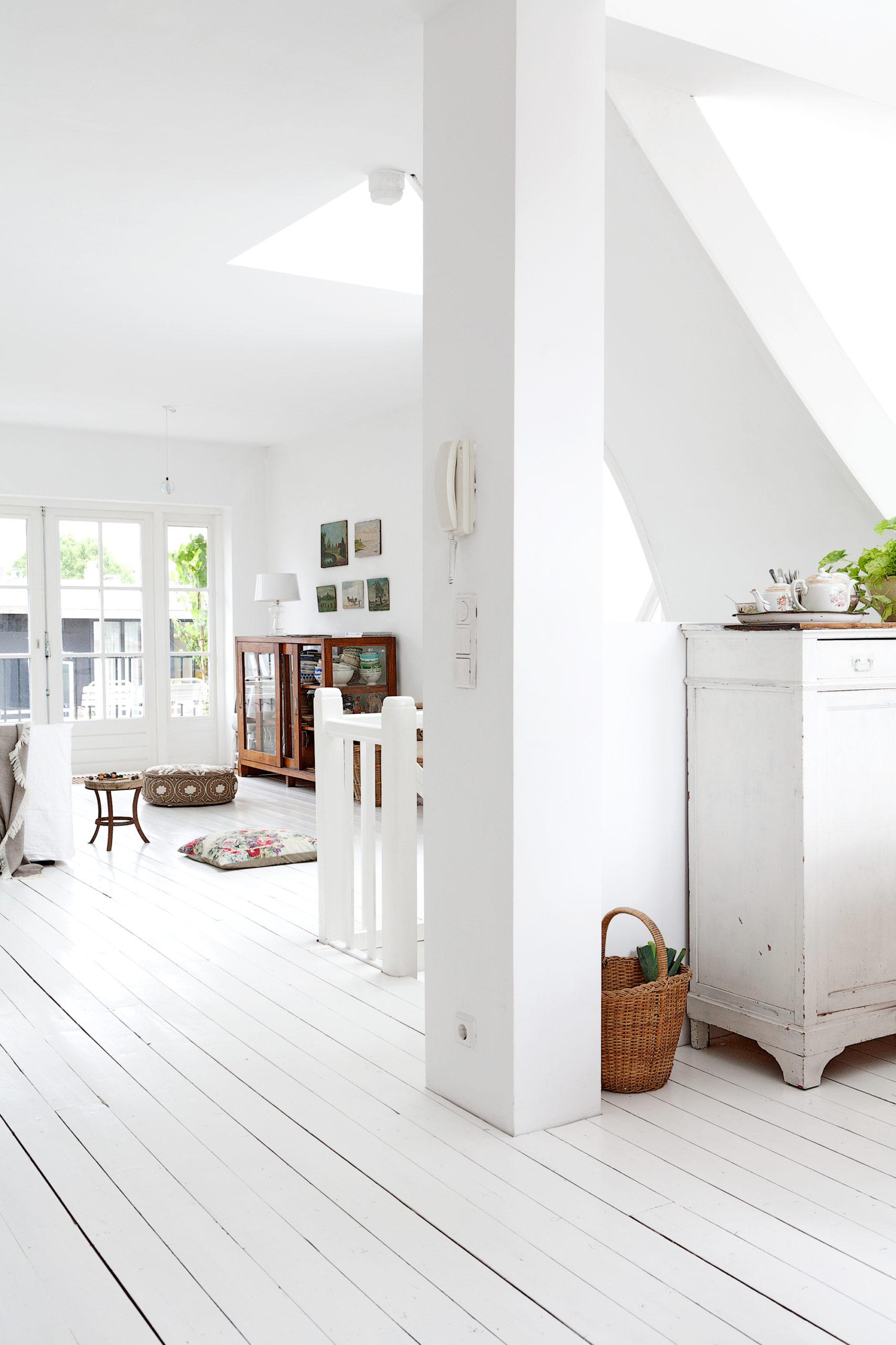 Suelo blanco para tu casa