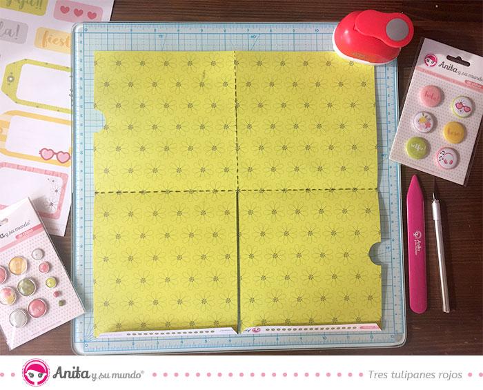 como cortar papel para hacer bolsillos originales