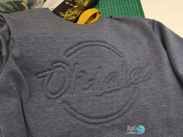 letras bordadas en ropa
