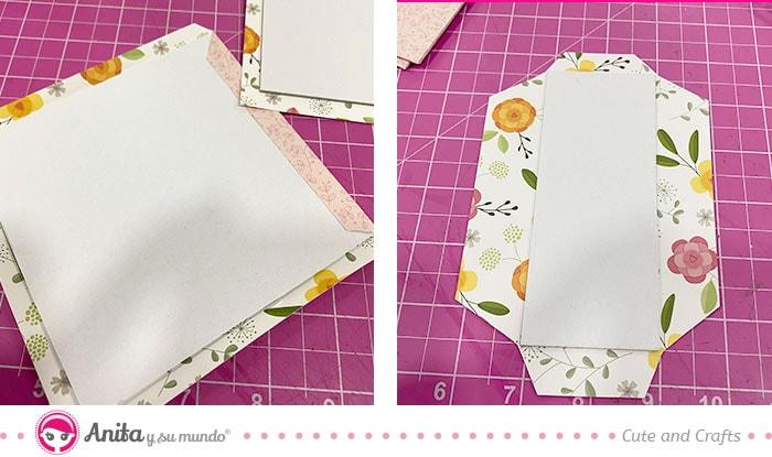 como hacer cajas bonitas con papeles manualidades