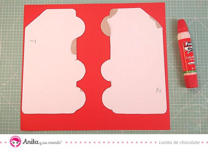 como hacer un album con papel decorado
