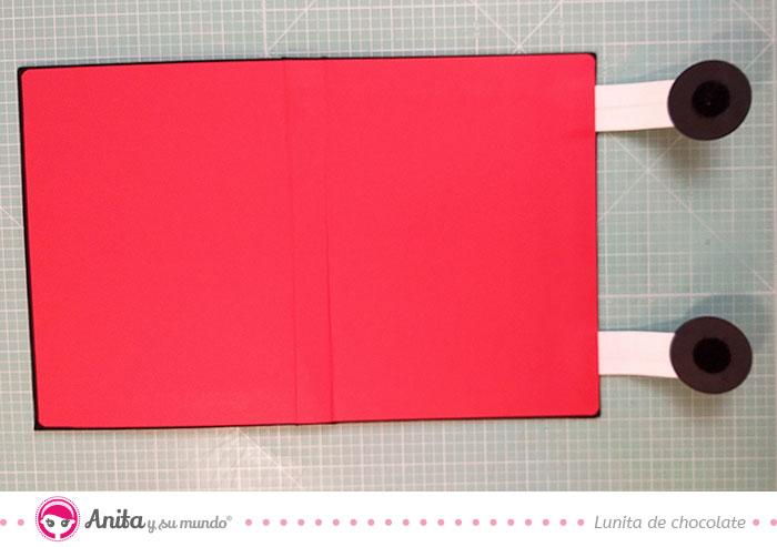 como hacer un cierre scrapbook con velcro
