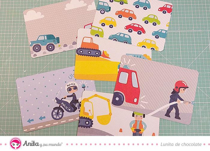 postales de papel colecciones scrapbooking anita y su mundo