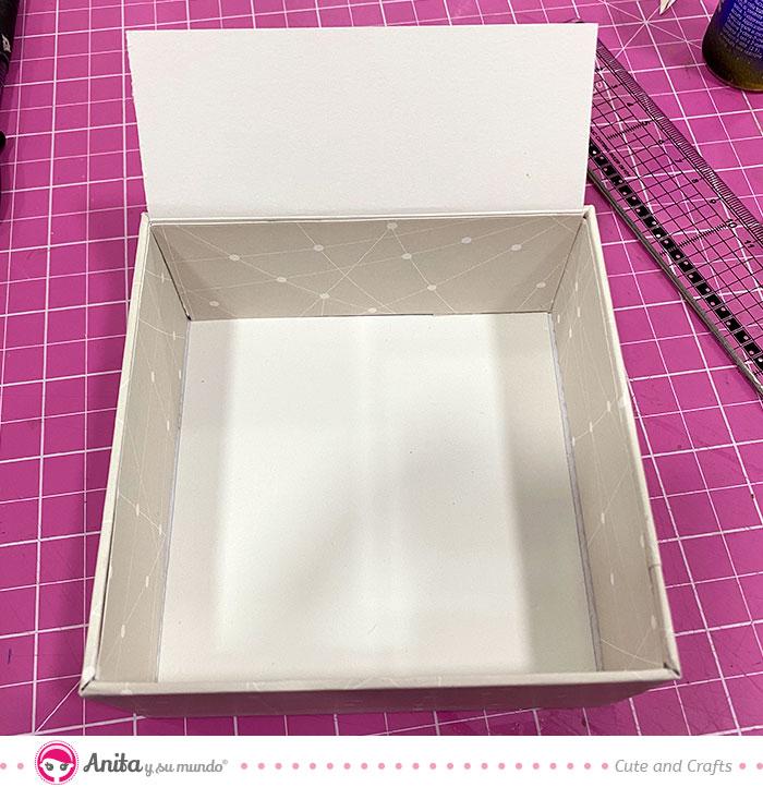 tutorial cajas de regalo papel estampado