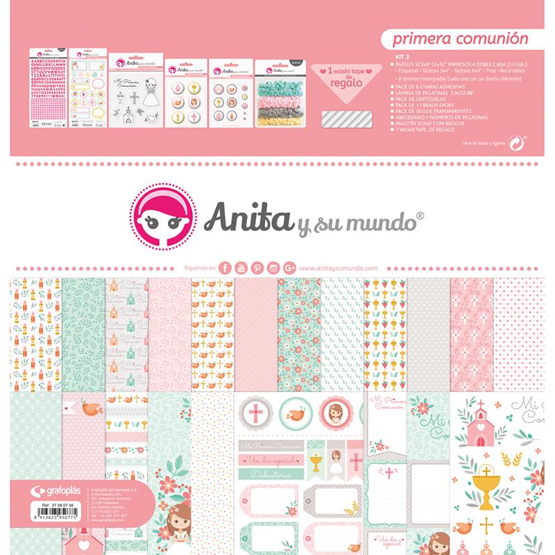 """Kit maletín colección """"Primera Comunión Niña"""" – Ref. 37 08 07 46"""